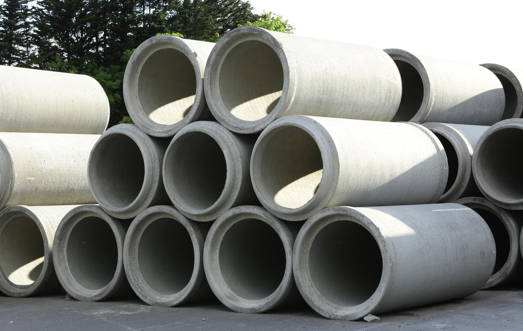 Concrete Pipe Diameters : Concrete pipes condron