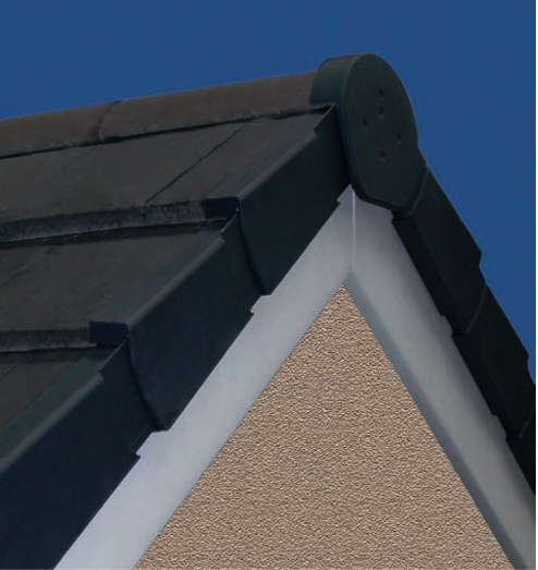 Dry Verge System Uni Click Condron Concrete